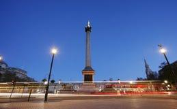 Quadrado de Trafalgar imagem de stock