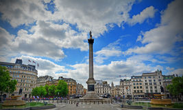 Quadrado de Trafalgar fotos de stock royalty free