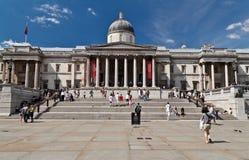 Quadrado de Trafalgar em Londres Fotos de Stock