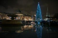 Quadrado de Trafalgar, Londres fotos de stock