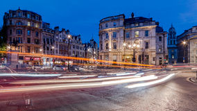 Quadrado de Trafalgar, Londres imagens de stock royalty free