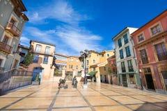 Quadrado de Trascorrales na cidade de Oviedo Imagens de Stock