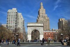 Quadrado de Washington em New York City Imagem de Stock Royalty Free