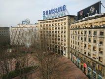 Quadrado do ‡ do iÄ do ¡ de Nikola PaÅ, Belgrado Imagens de Stock Royalty Free