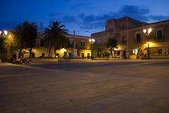 Quadrado do castelo de Ventotene imagens de stock royalty free