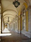 Quadrado do comércio em Lisboa Fotos de Stock