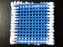 Quadrado do cotonete de algodão Imagem de Stock