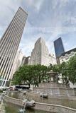 Quadrado do hotel da plaza e Central Park, New York Foto de Stock Royalty Free