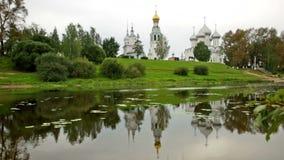 Quadrado do Kremlin (catedral) vídeos de arquivo
