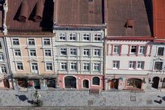 Quadrado do mercado em Lviv imagem de stock