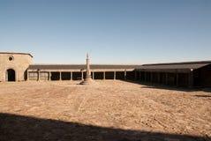 Quadrado do monastério imagens de stock