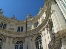 Quadrado do museu de Bruxelas. fotografia de stock royalty free