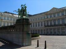 Quadrado do museu de Bruxelas. imagens de stock