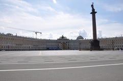 Quadrado do palácio de St Petersburg Imagens de Stock Royalty Free