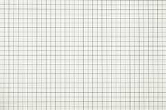 Quadrado do papel de gráfico foto de stock