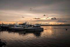 Quadrado do porto de Manila Foto de Stock Royalty Free