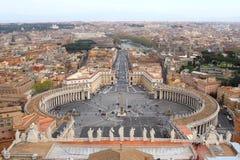 Quadrado do St. Peter fotos de stock royalty free