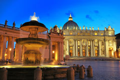 Quadrado do St. Peter Imagem de Stock