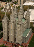 Quadrado do templo de Salt Lake Imagem de Stock