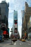 Quadrado do tempo - New York Fotos de Stock Royalty Free