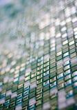 Quadrado do vidro verde Fotografia de Stock