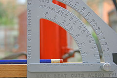 Quadrado dos carpinteiros. Imagem de Stock Royalty Free