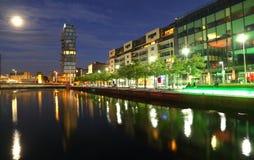 Quadrado Dublin de Grand Canal Imagem de Stock