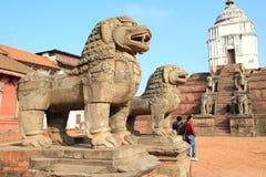 Quadrado durbar de Patan. Fotografia de Stock