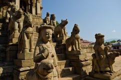 Quadrado durbar de Patan, bhaktapur, nepal Foto de Stock Royalty Free