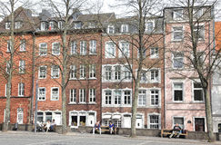 Quadrado em Aix-la-Chapelle, Alemanha Imagem de Stock Royalty Free