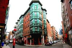 Quadrado em Boston velha imagens de stock royalty free