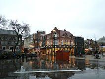 Quadrado em Eindhoven, os Países Baixos Fotografia de Stock