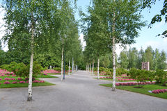 Quadrado em Lappeenranta Fotos de Stock Royalty Free