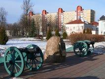 Quadrado em Polotsk Fotos de Stock Royalty Free