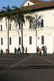 Quadrado em Quito Foto de Stock
