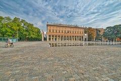 Quadrado em Reggio Emilia foto de stock royalty free