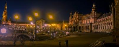 Quadrado em Sevilha foto de stock royalty free