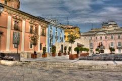 Quadrado em Valença, Spain Imagens de Stock