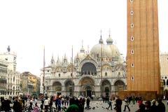 Quadrado em Veneza Imagem de Stock