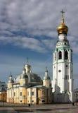 Quadrado em Vologda, Rússia de Kremlin Fotografia de Stock Royalty Free
