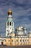 Quadrado em Vologda, Rússia de Kremlin Foto de Stock Royalty Free