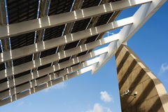 Quadrado fotovoltaico do fórum Fotos de Stock