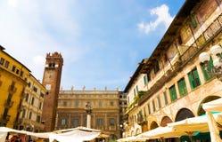 Quadrado italiano tradicional Fotos de Stock