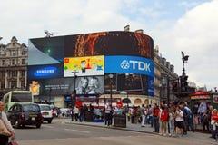 Quadrado Londres de Leicester Imagens de Stock