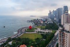 Quadrado maio de quarto em Qingdao, China fotografia de stock royalty free