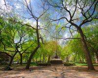 Quadrado NYC do parque da união fotografia de stock royalty free