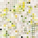 Quadrado pálido, efeito do mosaico ilustração stock