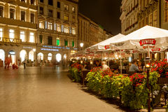 Quadrado principal de Krakow Imagem de Stock Royalty Free