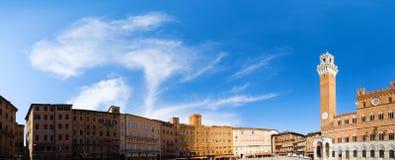 Quadrado principal de Siena Italy Imagens de Stock Royalty Free