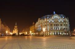 Quadrado Timisoara de Opera Fotografia de Stock Royalty Free
